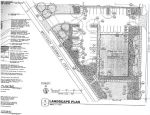 O'Reilly landscape plan for the site, 2013