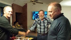 Doug Konkright, Stan Lind local Scandinavians with Finn Brobakken