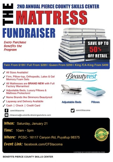 pcsc-mattress-fundraiser
