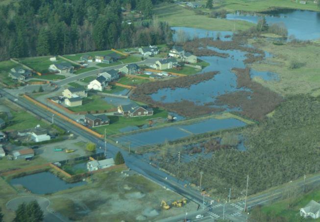 Thrift Pond flood