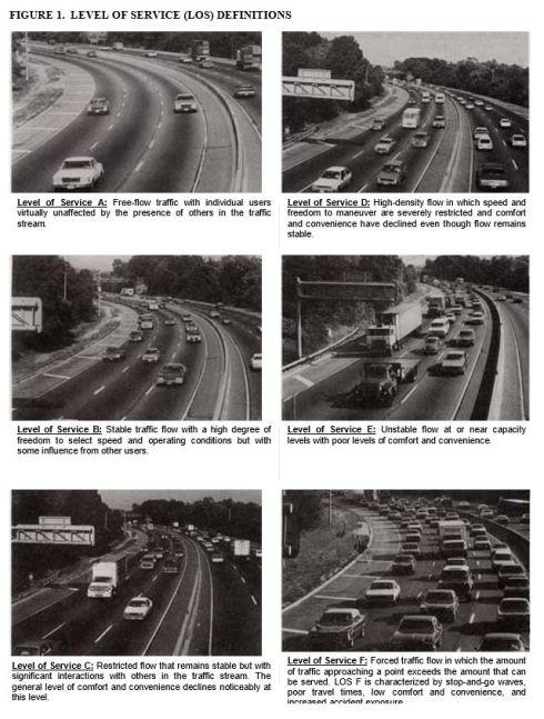 Elk Plain X Traffic LOS definitions