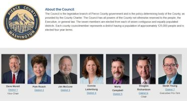 Pierce County Council 2020