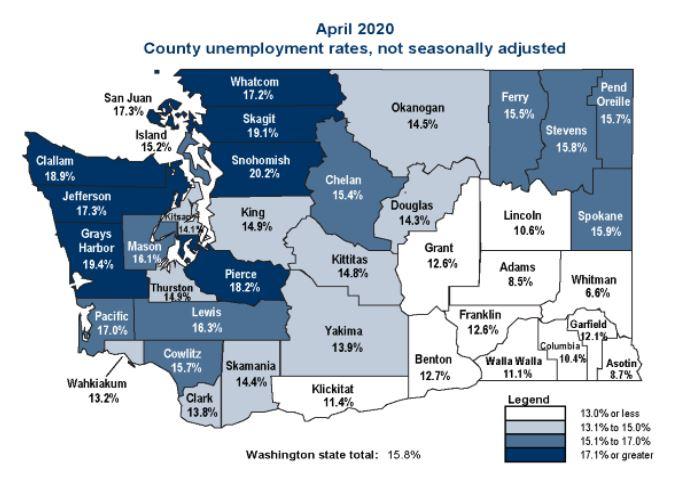April 2020 Unemployment